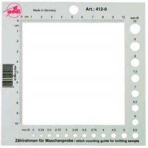 Plantilla cuentapuntos / medidor de agujas ADDI