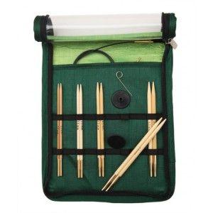 Bamboo Interchangeable Circular Needles Chunky Set