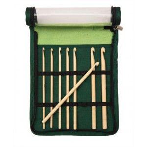 Set Ganchillos KnitPro Bamboo