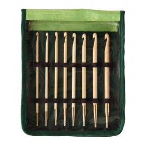 Set de Ganchillos Tunecinos Bamboo