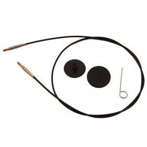 KnitPro Black Gold Cable