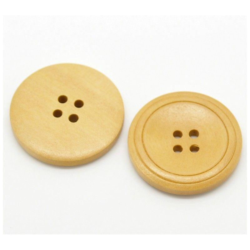 Botones de madera y coco - Tejeme lanas y complementos SL
