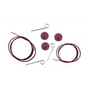 Cables KnitPro Purple