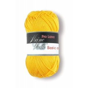 Pro Lana Basic Cotton 22 - Amarillo Huevo