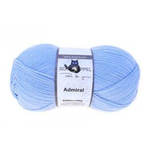 Admiral Unicolor Hellblau