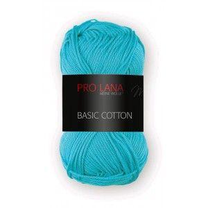 Pro Lana Basic Cotton 69 - Turquesa Fuerte
