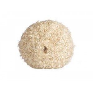 Mohair-yarn Bouclé - natural white