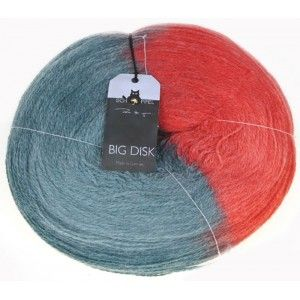 Big Disk Halb Rot