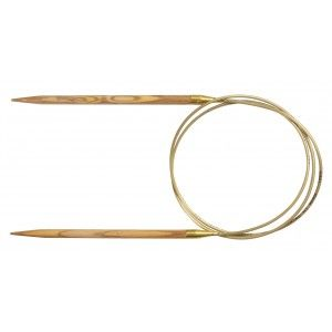 Addi Oliven  Fixed Circular Needles 50 cm - by Request