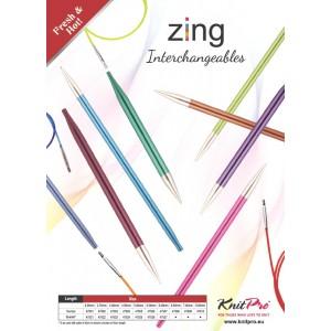 Zing Puntas Intercambiables Largo Normal