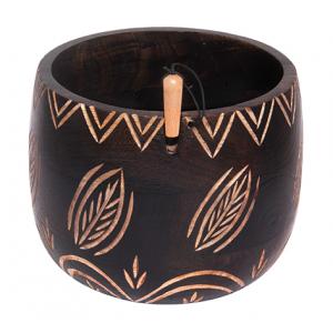 Yarn Bowl Leafy