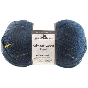 Admiral Tweed Bunt Jeans Melliert