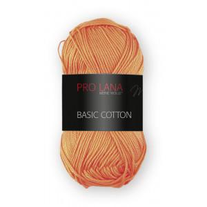 Pro Lana Basic Cotton 28 - naranja zanahoria