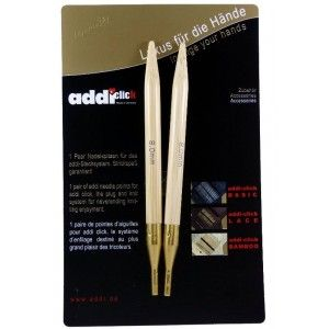 Puntas Addi Click Bambú